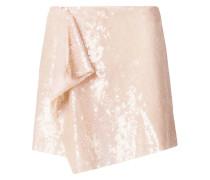 sequin embellished mini skirt