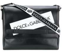logo panel messenger bag