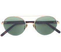 Sonnenbrille mit Bügeln in Schildpattoptik
