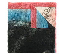 Williamsburg printed scarf