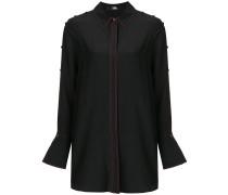 button detailed tunic shirt