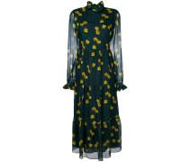 'Gala' Seidenkleid mit floralem Print