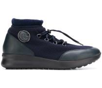 High-Top-Sneakers mit Kordelzug