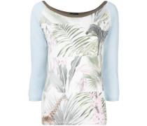 Pullover mit Dschungel-Print