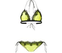 Bikini mit Spitzeneinsatz