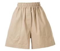 Weite Shorts mit hohem Bund