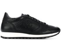 perforated runner sneakers