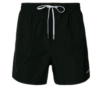 drawstring waist swim shorts
