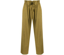 Cropped-Hose mit Paperbag-Taille