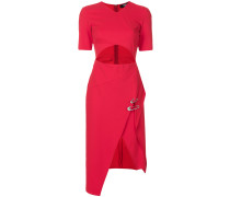 Asymmetrisches Kleid mit Cut-Out