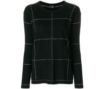 Pullover mit Karomuster