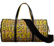 """Handtasche mit """"London""""-Print"""