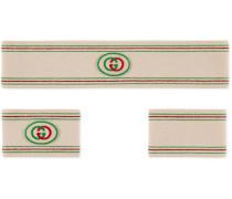 Stirnband und Schweißbänder mit GG