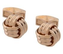 Manschettenknöpfe mit Knotendesign