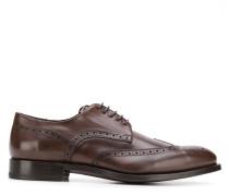 Derby-Schuhe mit Budapestermuster