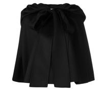gathered cap sleeve cape