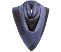 check logo scarf