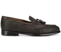 Loafer mit Intrecciato-Muster