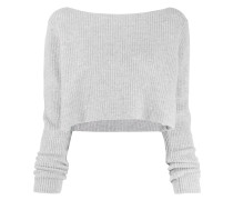 'Cannes' Cropped-Pullover