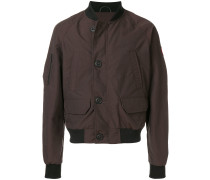 button bomber jacket