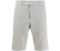 Gestreifte Chino-Shorts
