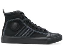 Zweifarbige High-Top-Sneakers