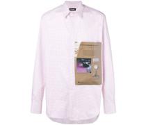 Kariertes Hemd mit aufgesetzter Tasche