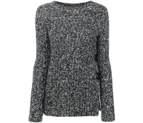 fitted knitted sweater