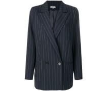 pinstriped formal blazer