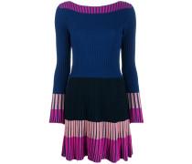 Kurzes Kleid in Colour-Block-Optik