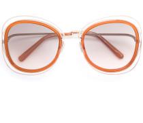 Sonnenbrille mit Oversized-Gläsern