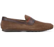 Loafer mit Kontrastbesatz