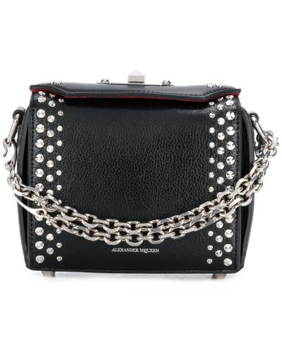 'Box' Handtasche mit Verzierungen