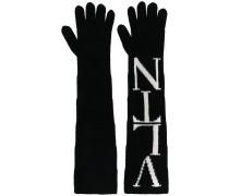 Garavani Handschuhe mit Logo