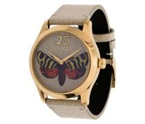 Armbanduhr mit Stickerei