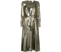 Drake metallic flared dress