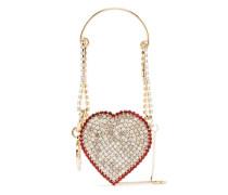 Verzierte 'Baby Heart' Mini-Tasche