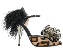 Pumps mit Leopardenmuster