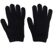 Gestrickte Handschuhe mit Blitz