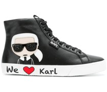 'Karl' High-Top-Sneakers