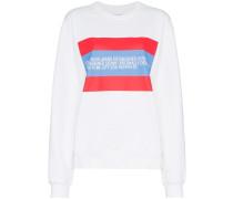 Sweatshirt mit Patch