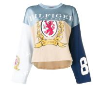 Langarmshirt in Colour-Block-Optik