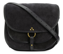 layered saddle handbag