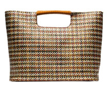 'Birch' Shopper mit Flechtmuster