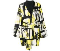 Kimono mit Palmen-Print