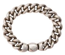 Silberarmband mit breiter Kette