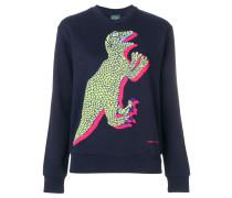 Sweatshirt mit Dinosaurier-Print