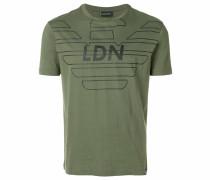 "T-Shirt mit ""LDN""-Print"