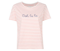 Ooh La La striped T-shirt