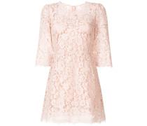 Cordonetto lace mini dress